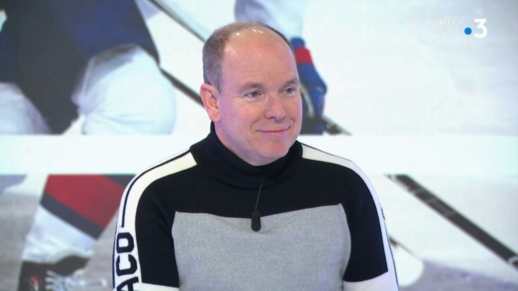 Prince Albert supports Monaco's team in PyeongChang