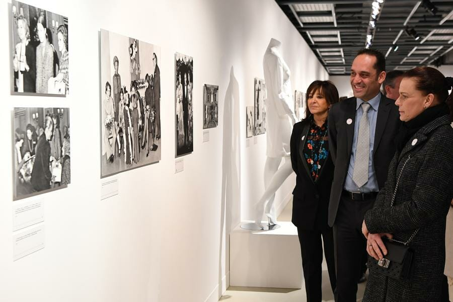 Princess Stephanie attends Monegasque Red Cross 70th anniversary Exhibition