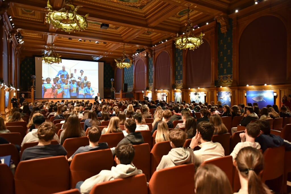 Photo of 'The Prince and the Sea' Documentary Screening for 300 Students