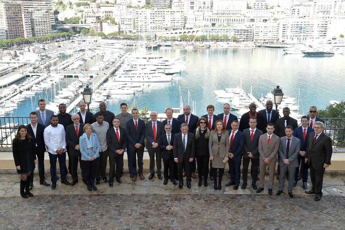 Roca Basket and Government of Monaco meeting