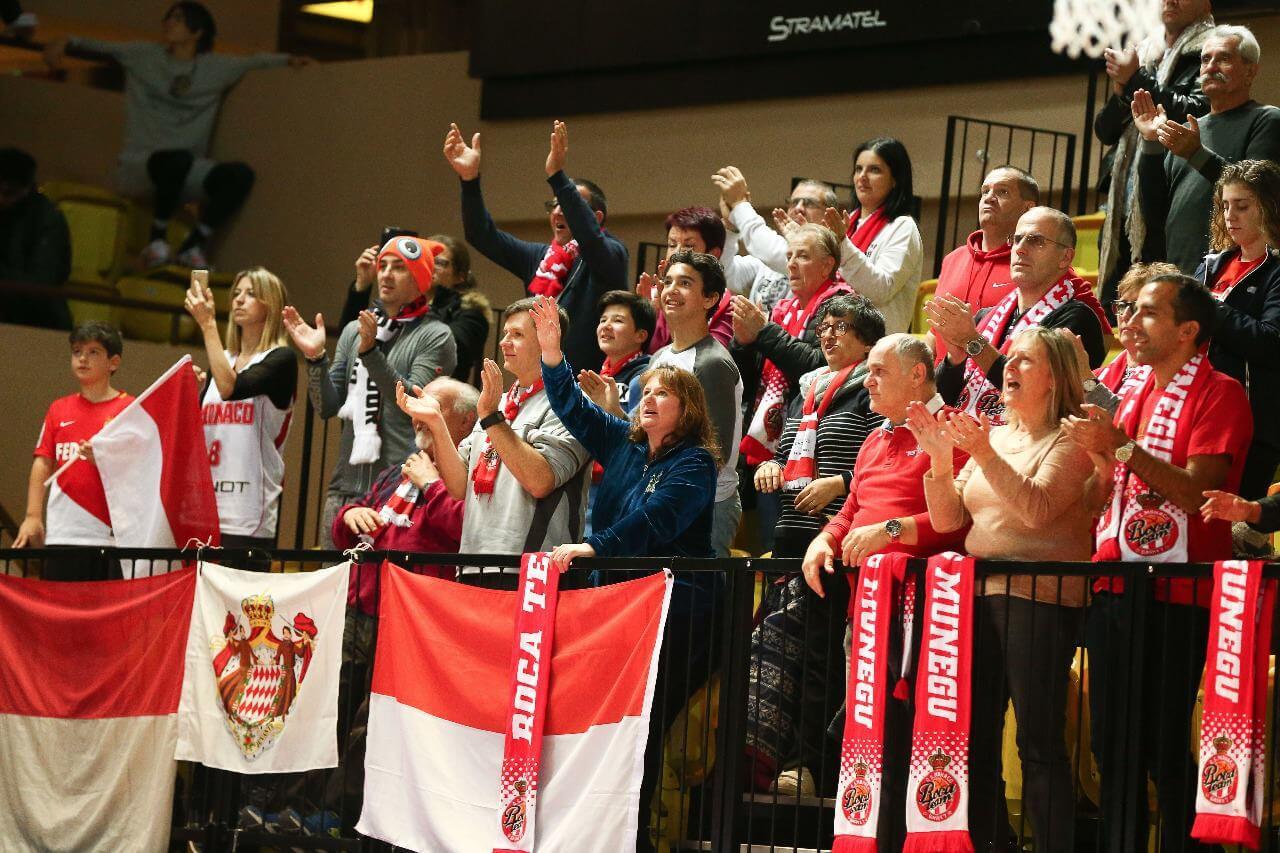 Roca Basketball Monaco Fans