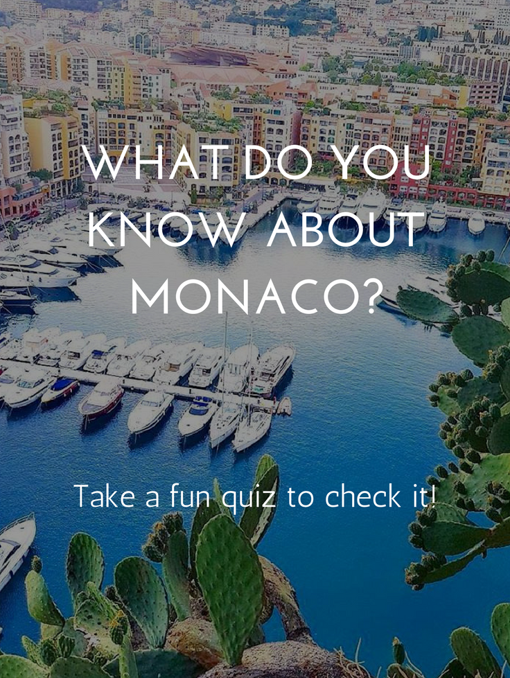 What do you know about Monaco?