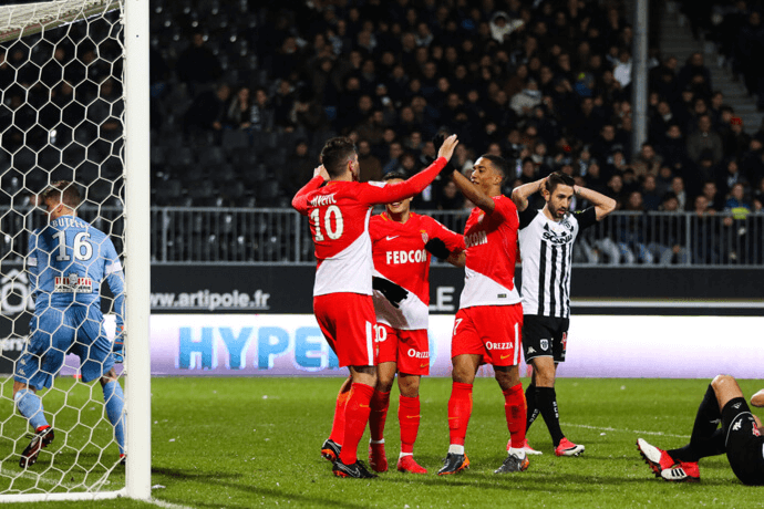 Photo of AS Monaco go second with big win