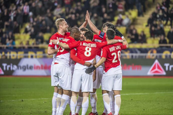 Photo of AS Monaco into the final of the Coupe de la Ligue