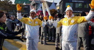 Prince Albert II at the Winter Olympics
