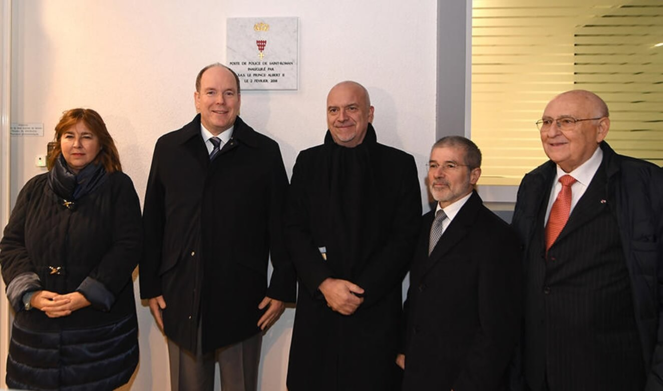 Photo of Prince Albert II inaugurates New Police station and​ other princely news