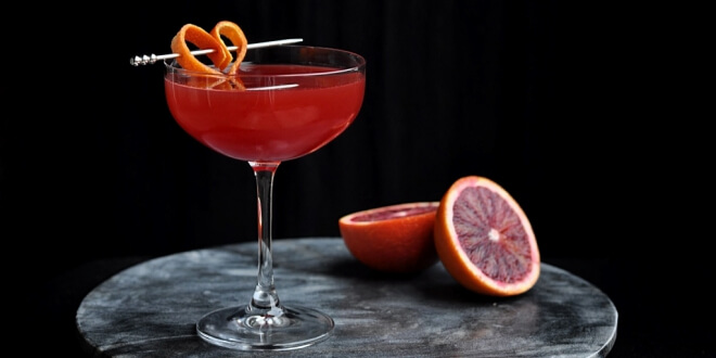 Valentine's Day cocktail competition
