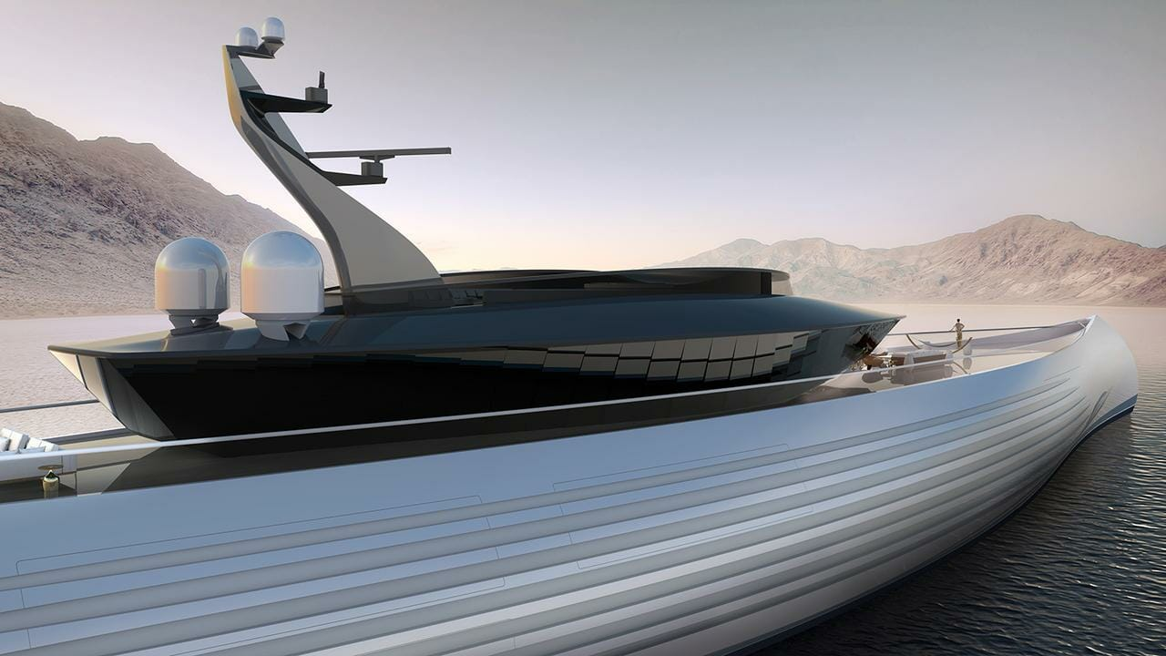 Photo of 115-metre superyacht concept Tuhara and other yacht news
