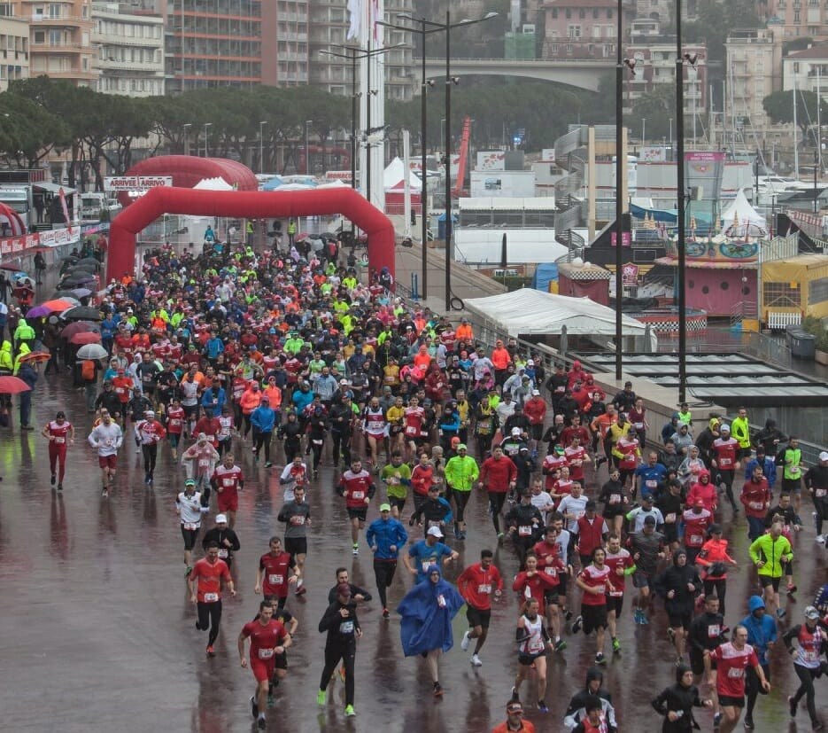 800 athletes brave the rain for 2018 Monaco Run