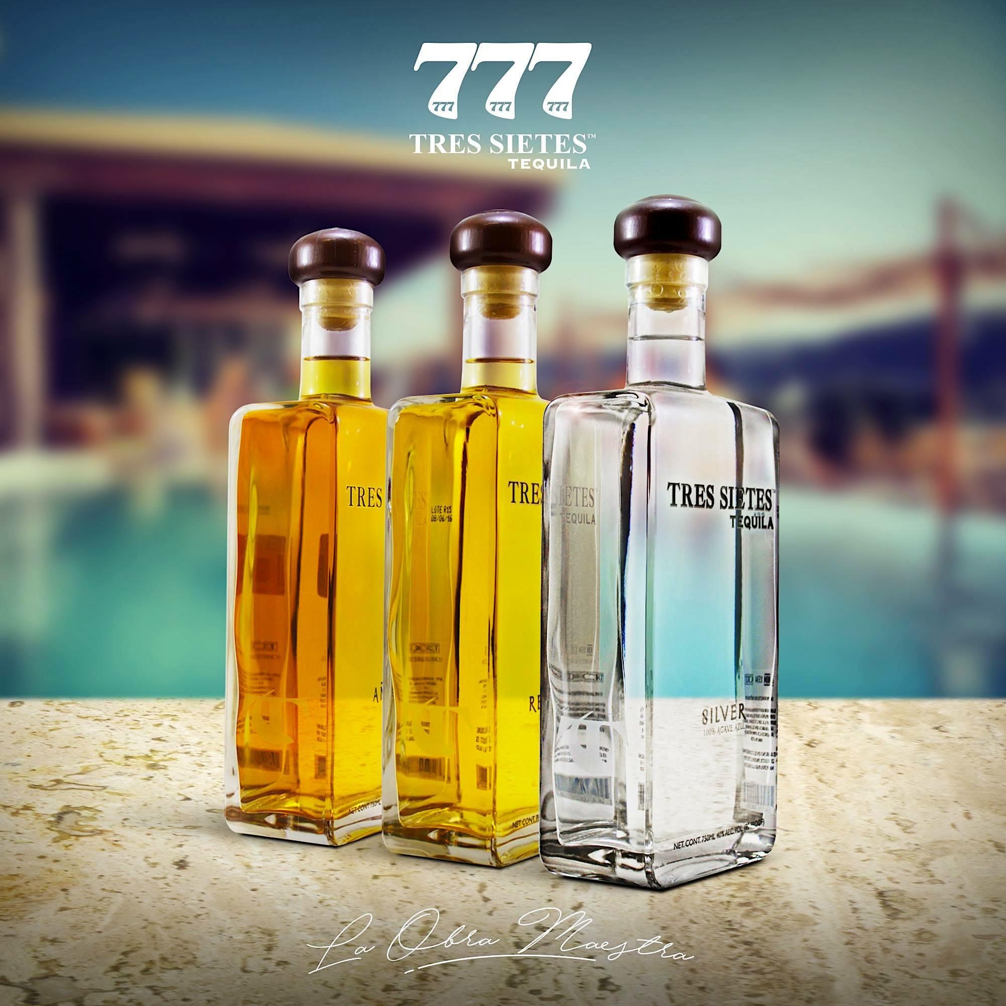Tequila TRES SIETES 777 Monaco Launch
