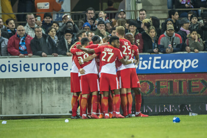 Photo of AS Monaco recorded another win 3-1 against RC Strasbourg