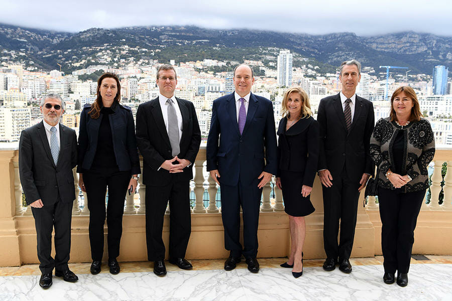 Photo of Accreditation of US Ambassador to Monaco