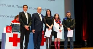 Monegasque Red Cross Graduation Diplomas