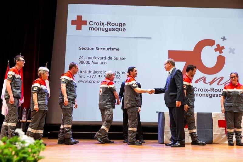 Monegasque Red Cross Graduation Diplomas