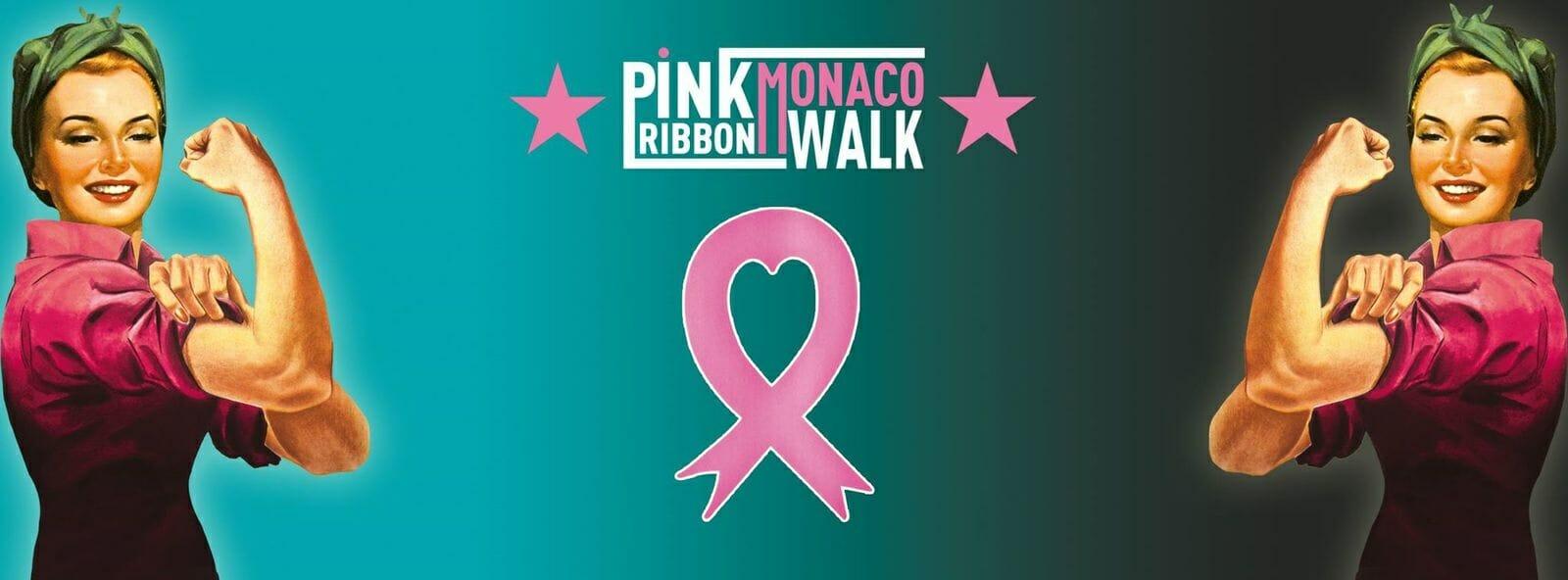 Pink Ribbon Monaco Walk