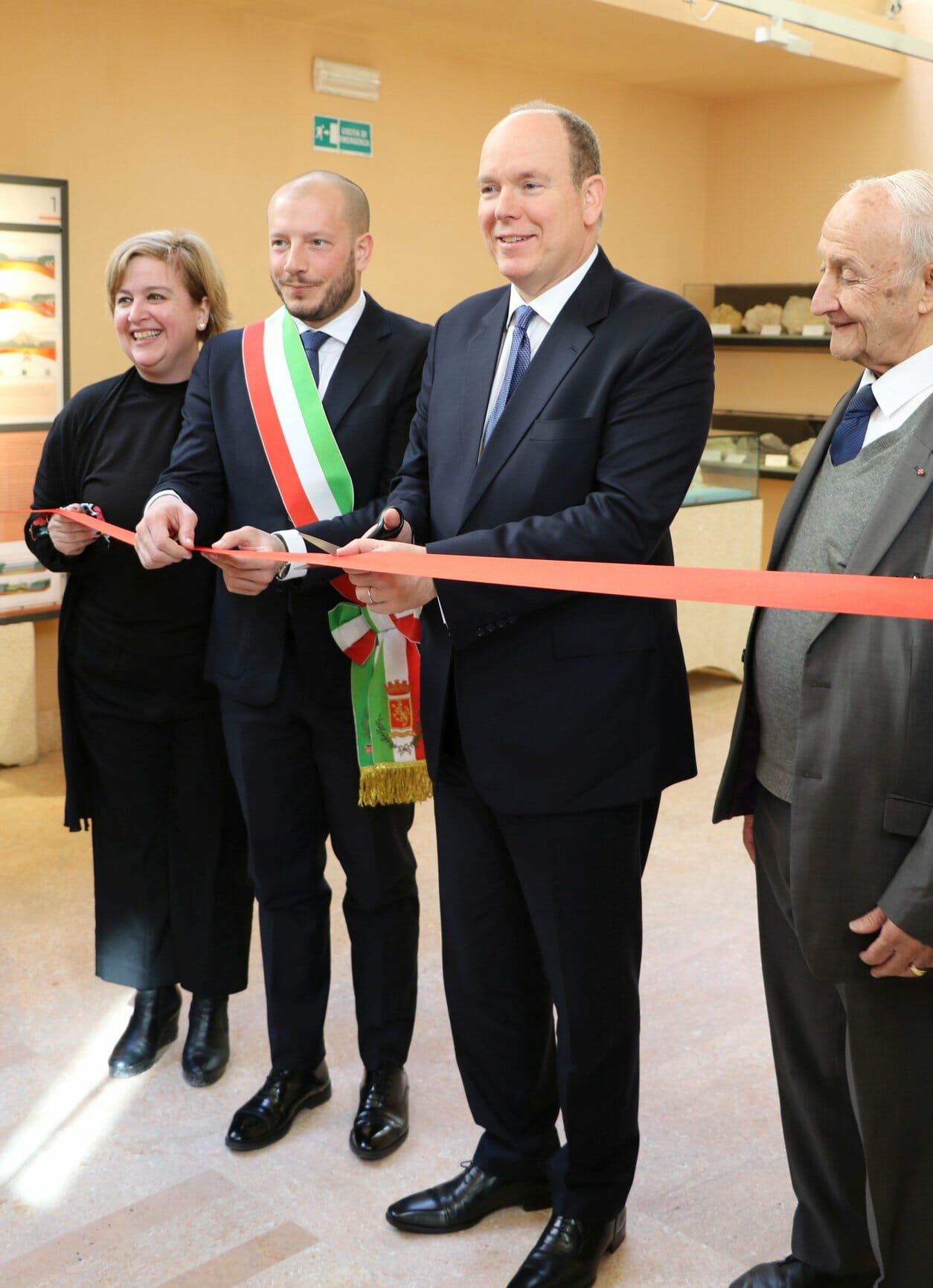 Prince Albert Inaugurates renovated Prehistoric Museum of Balzi Rossi