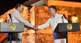 Prince Albert President Juan Manuel Santos