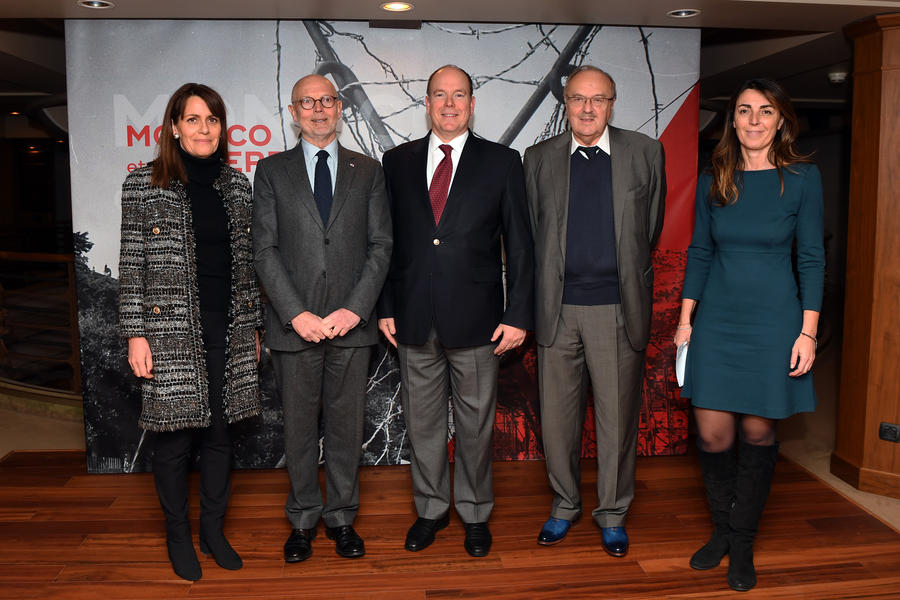 Prince Albert attends documentary screening