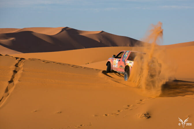 Photo of Pauline Ducruet trains for Gazelles Off-Road Rally