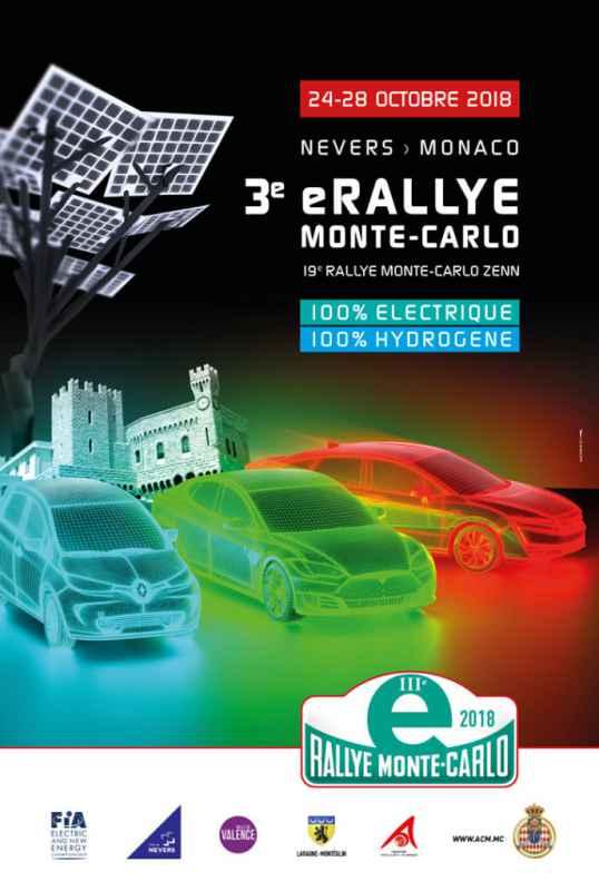 3rd Monte-Carlo e-Rally 2018