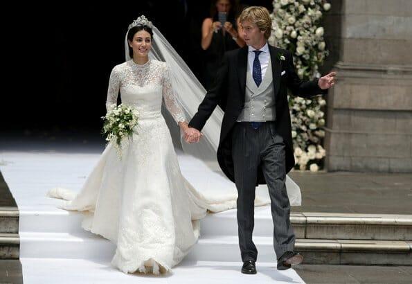 Prince Christian and Alessandra de Osma wedding
