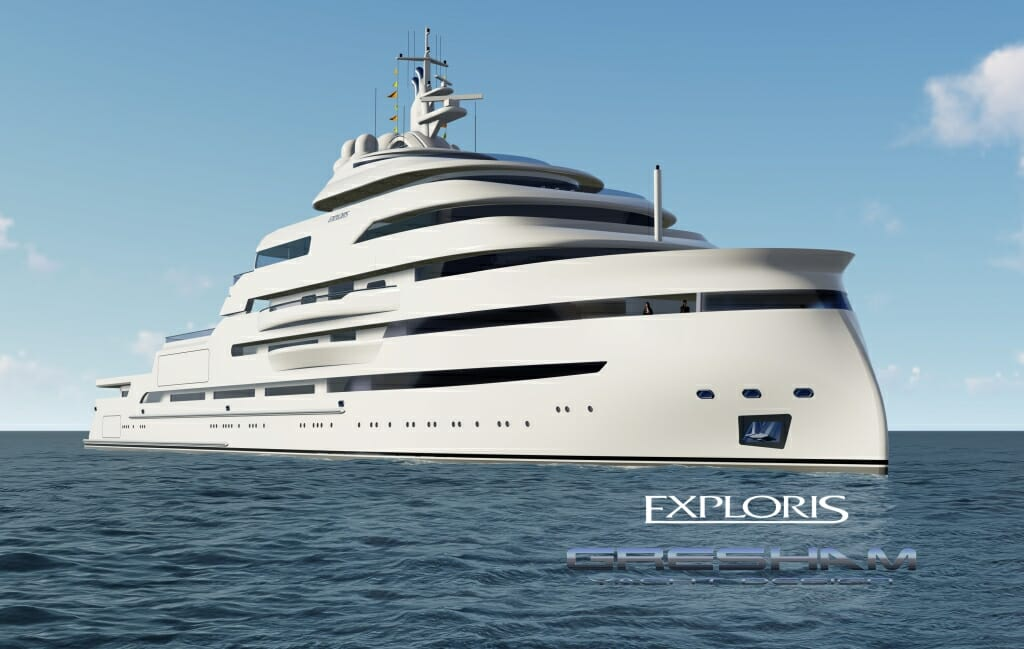Photo of 100-metre explorer yacht concept by Gresham Yacht Design and other yacht news