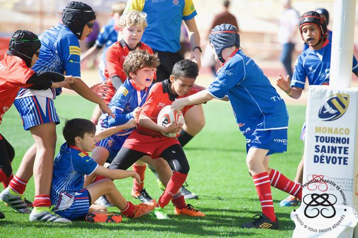 Photo of Monegasque Children Win Their Trophy of the Sainte-Devote Rugby Tournament