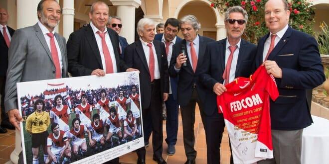 Celebrating ASM Football Champions at the Prince's Palace