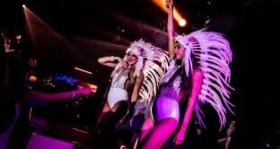 Amber Lounge Monaco Extravaganza party atmosphere