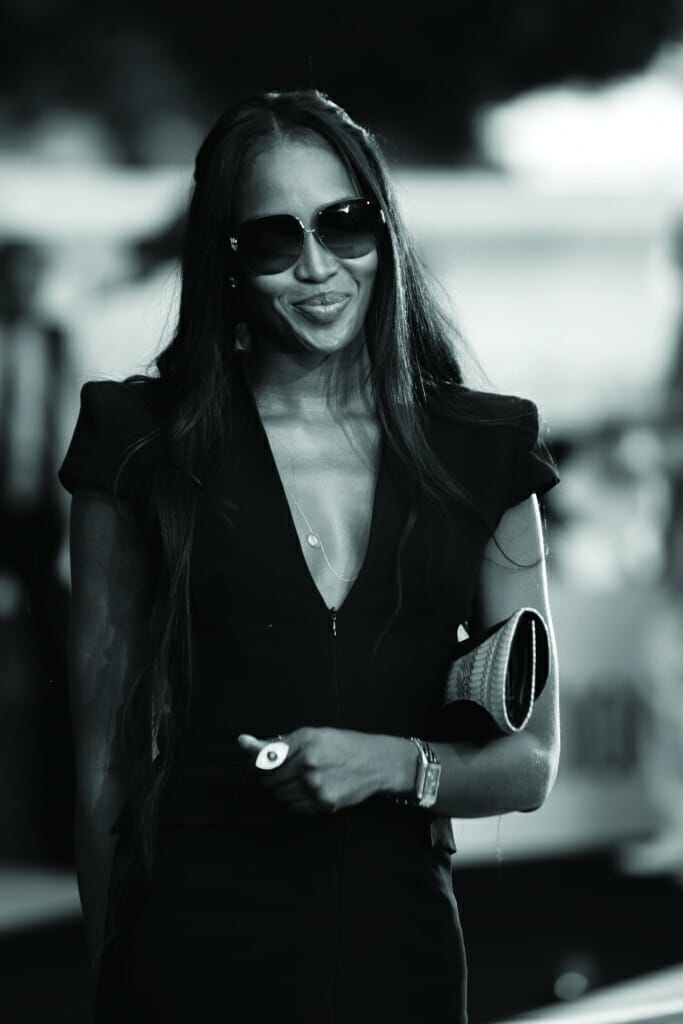 Amber Lounge Monaco celebrity guest Naomi Campbell
