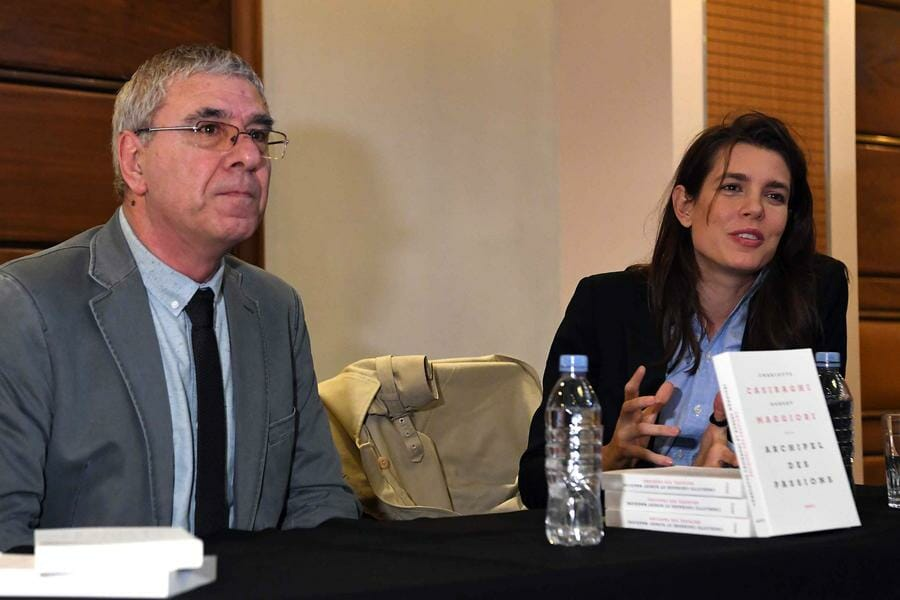 Photo of 'Archipel des passions' Book Presentation with Charlotte Casiraghi and Robert Maggiori
