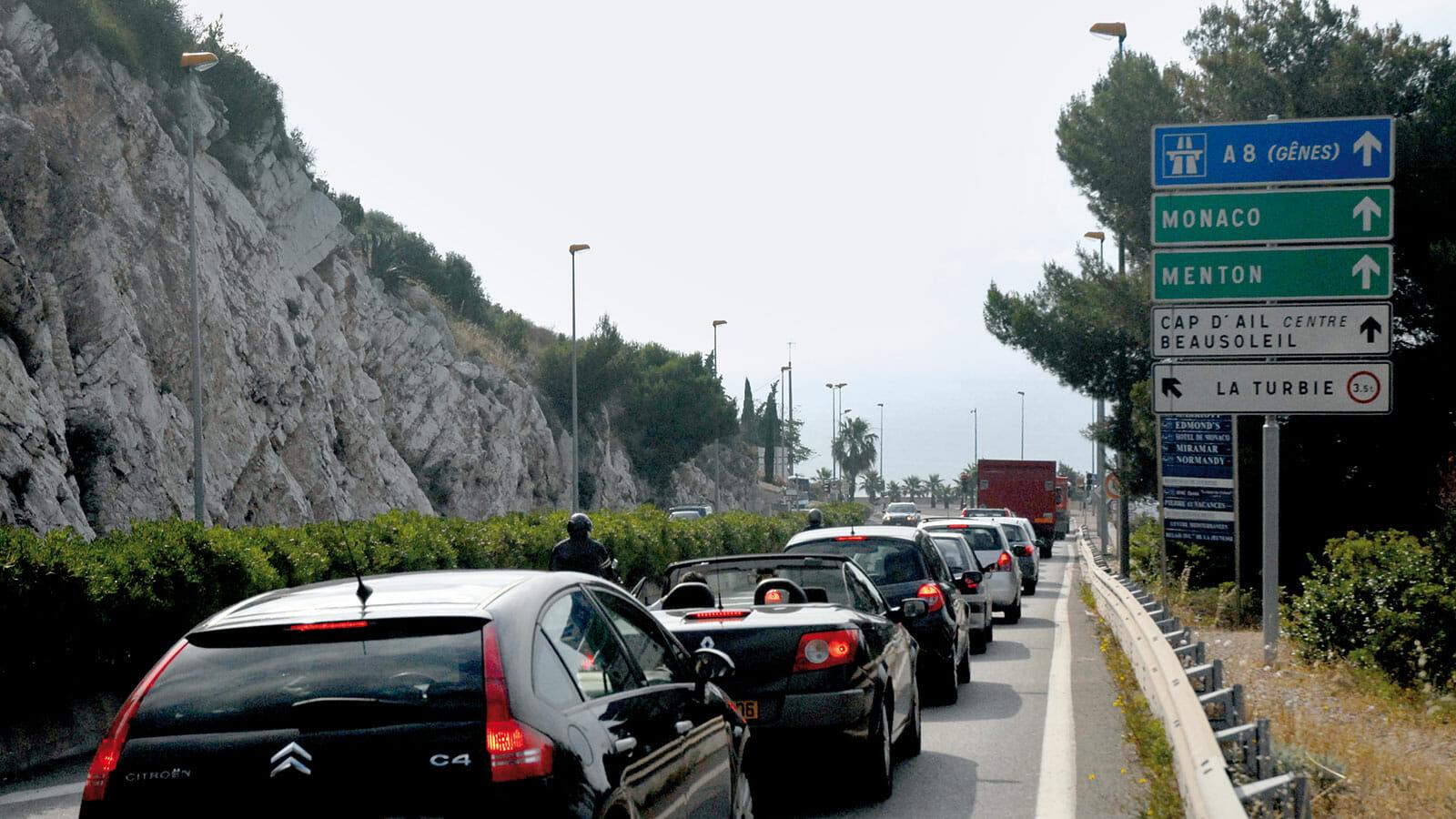 Autoroute A8 Monaco