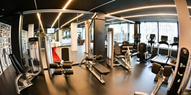 Inauguration of the new hercule fitness club municipal gym