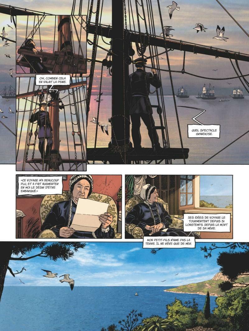 'Albert I of Monaco, the Explorer Prince' comic book,