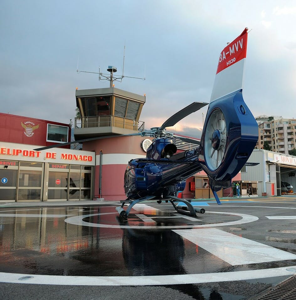Photo of Emirates offer Helicopter service between Monaco and Nice