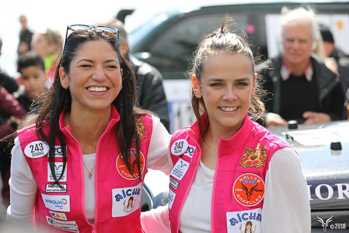 Pauline Ducruet and Schanel Bakkouche