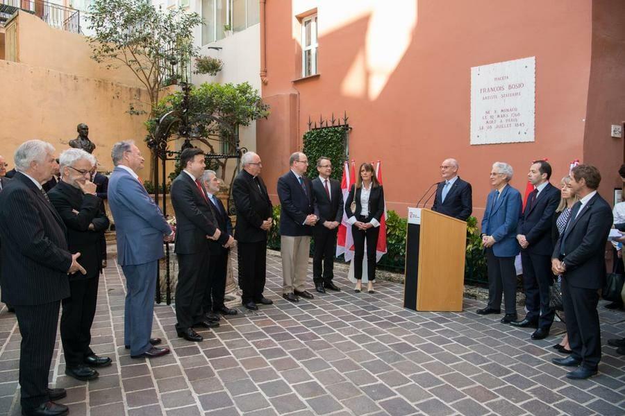 Prince Albert Commemorates 250th anniversary François-Joseph Bosio