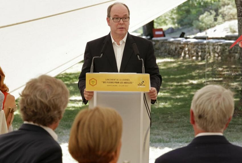 Prince Albert supports new Beekeeping Union