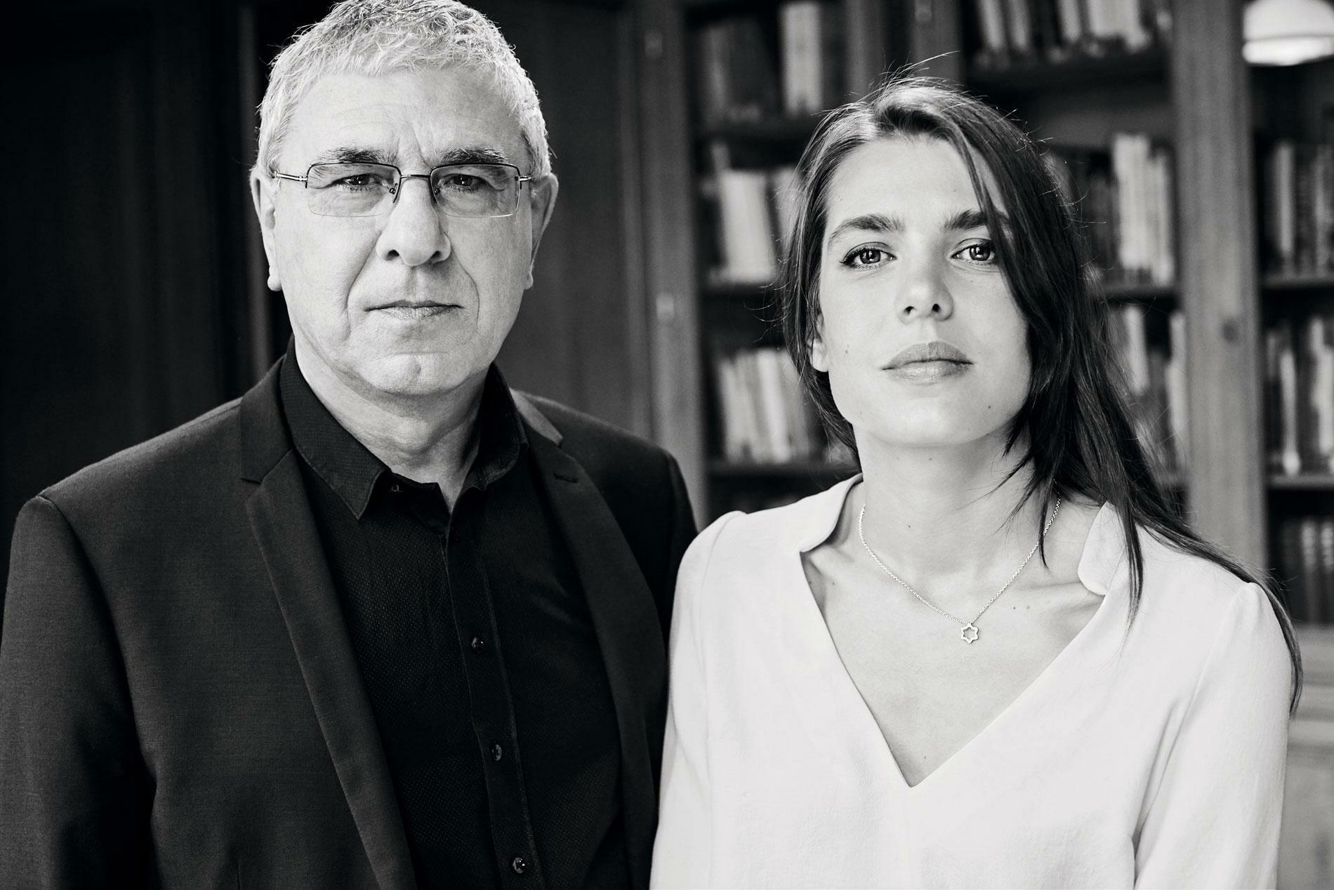 Charlotte Casiraghi and Robert Maggiori