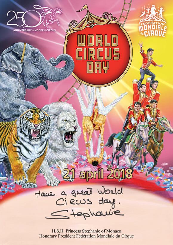 World Circus Day Monaco