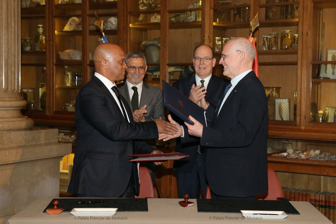 Prince Albert II and President of Cape Verde