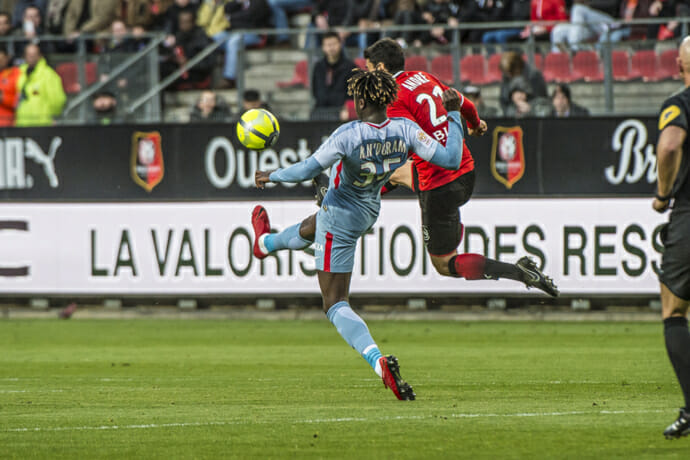 Photo of AS Monaco were held to a draw at Rennes
