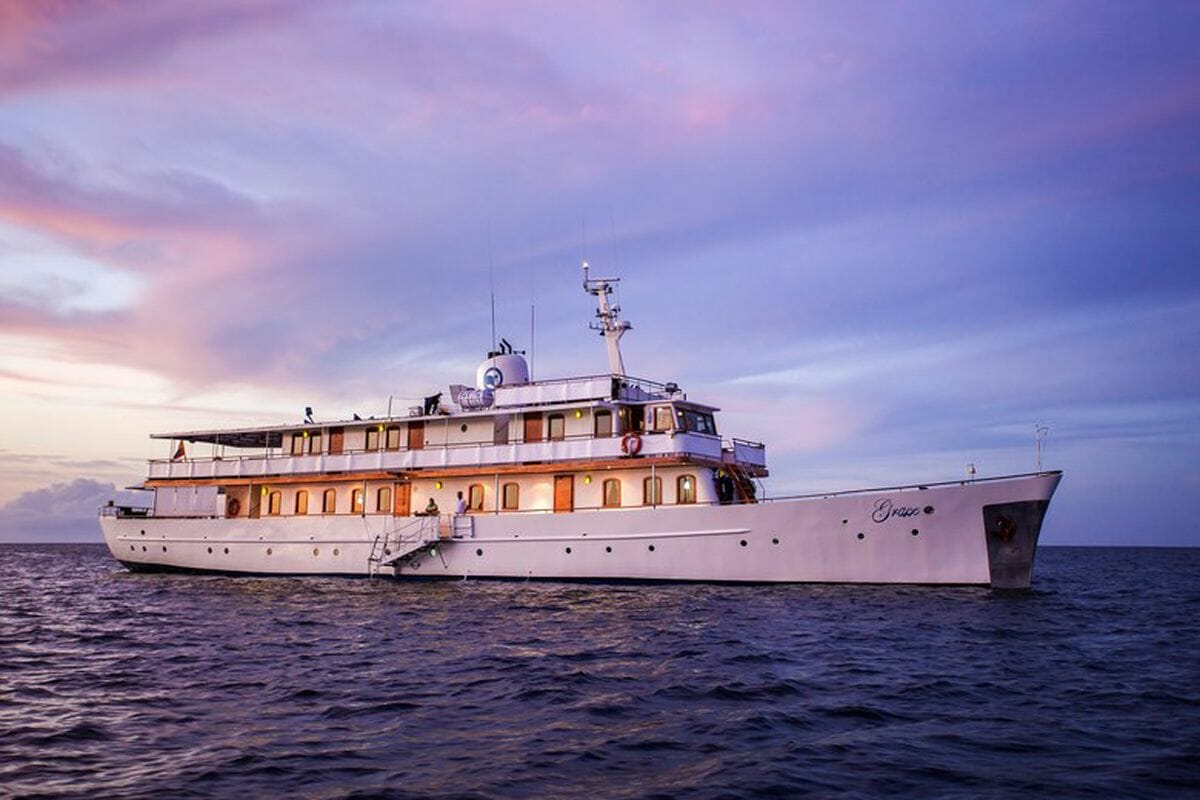 Grace Kelly's restored yacht