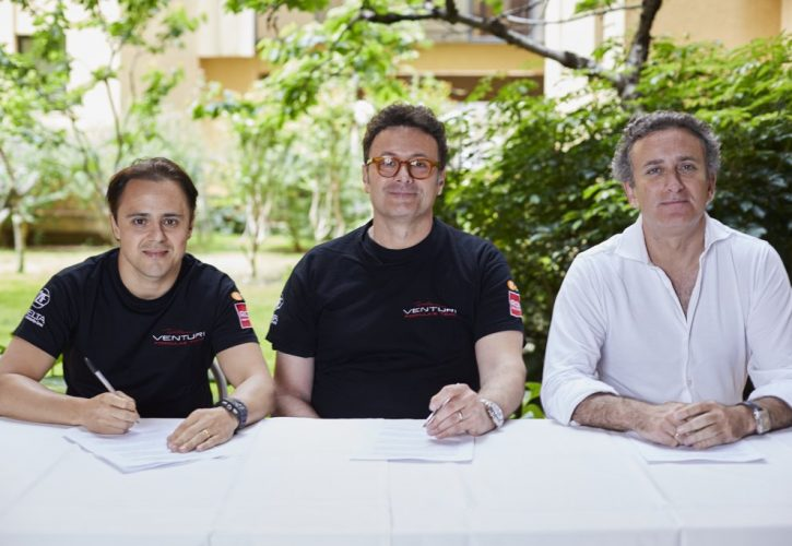 Felipe Massa signs with Venturi