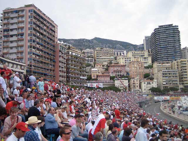 Grand Prix Monaco Stands