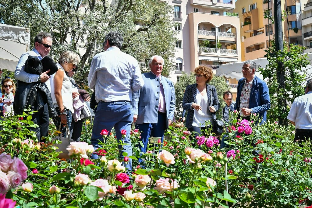 Photo of Monaco's 4th International Rose Competition