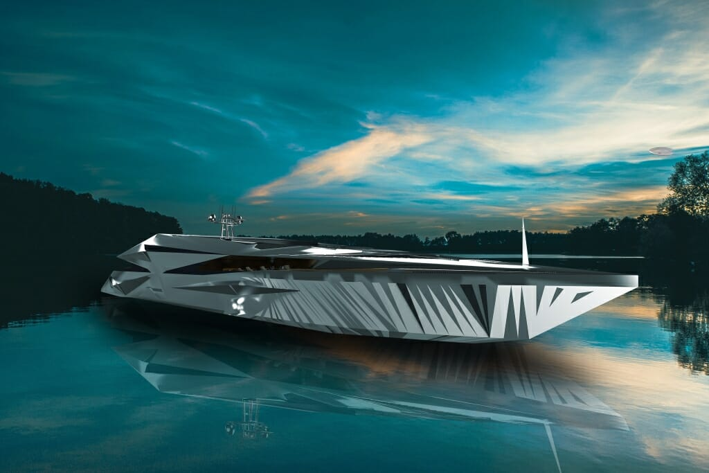Photo of 65-metre yacht concept Roswell by George Lucian and other yacht news