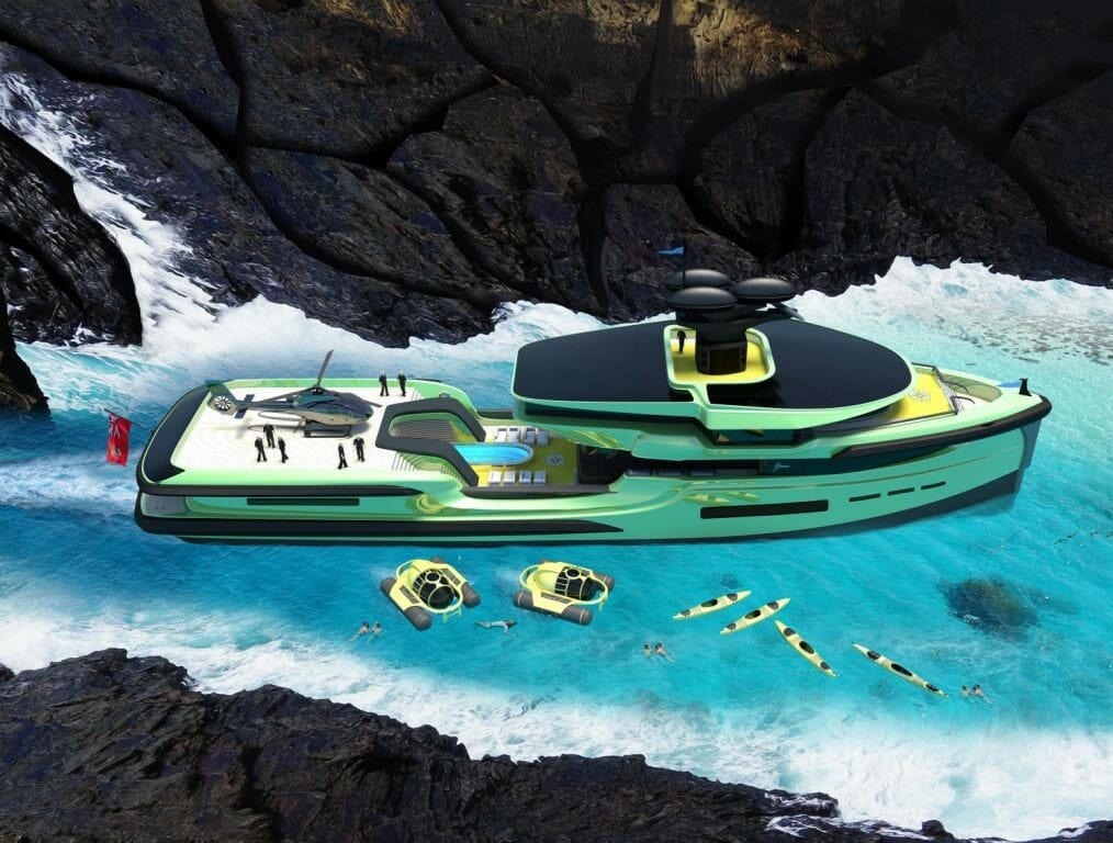 Green Expedition yacht project
