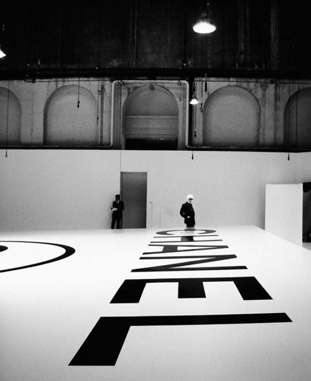 'Modeland & Mr. Lagerfeld' Exhibition at Galerie Carré Doré