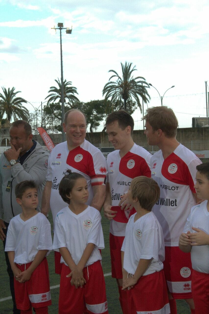 Soccer Battle of the Stars with Prince Albert